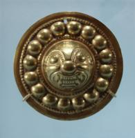 Narino Gold Embossed Ornament