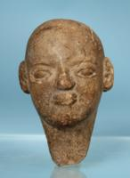 Egyptian Terracotta Doll Head