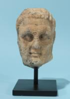 Greek Marble Head of Herakles