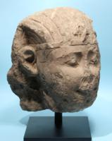 Ptolemaic Limestone Head of a King