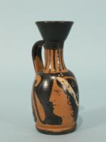 Campanian Miniature Red-Figure Lekythos