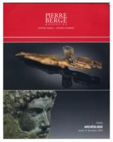 Pierre Berge Auction Catalog, December 15, 2009