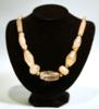 Tairona Rock Crystal and Gold Necklace