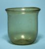 Roman Yellow Glass Chalice