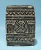 Sumerian Stone Eye Idol Temple Stele