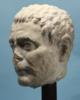 Roman Marble Portrait Head of a Man