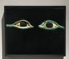 Egyptian Bronze and Marble Mummy Eyes