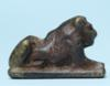 Egyptian Steatite Lion Amulet