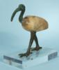 Egyptian Bronze and Alabaster Ibis