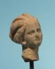 Greek Terracotta Head of a Woman