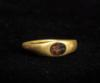 Roman Gold Ring: Chalcedony Intaglio of Athena