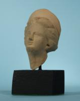 Greek Terracotta Head of a Goddess